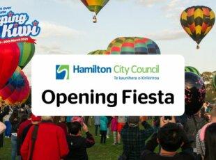 The Hamilton City Council Opening Fiesta