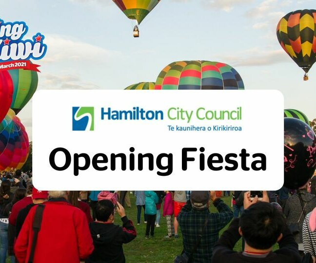 The Hamilton City Council Opening Fiesta