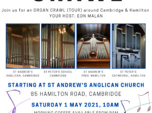 Organ Tour Crawl