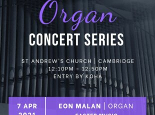 Lunchtime Organ Concert – Easter Music