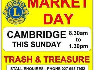 CANCELLED – Cambridge Market – Trash 'n' Treasure