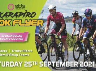 Ride Holidays Karapiro 100K Flyer