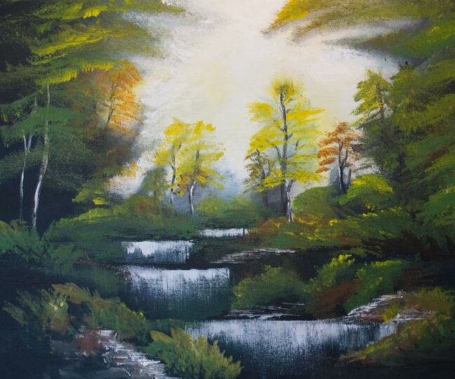 Bob Ross Autumn Forest