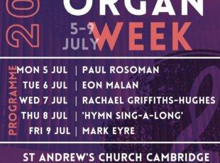 Cambridge Organ Week