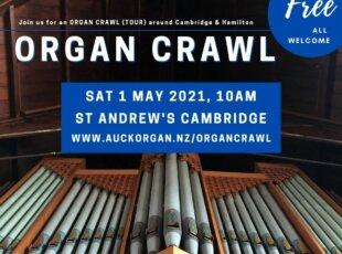 Cambridge & Hamilton Organ Crawl (Tour)