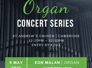 Lunchtime Organ Concert – Hymn Preludes