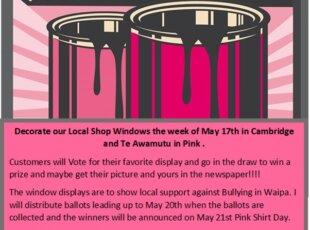 Pink Shirt Day!