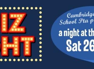 Cambridge East PTA quiz night
