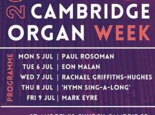 Cambridge Organ Week 2021
