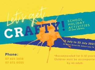 Let's Get Crafty: School Holiday Programme