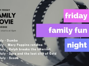Friday Family Movie Fun Night – Cambridge Library on 30 July