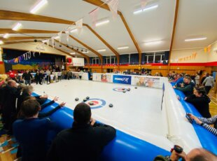 Curling Night at the Races