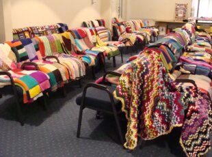 Operation Cover Up Blanket Display