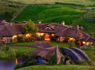霍比特电影外景地之旅 – Hobbiton Movie Set
