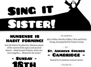 Opera Lovers present Sing it Sister